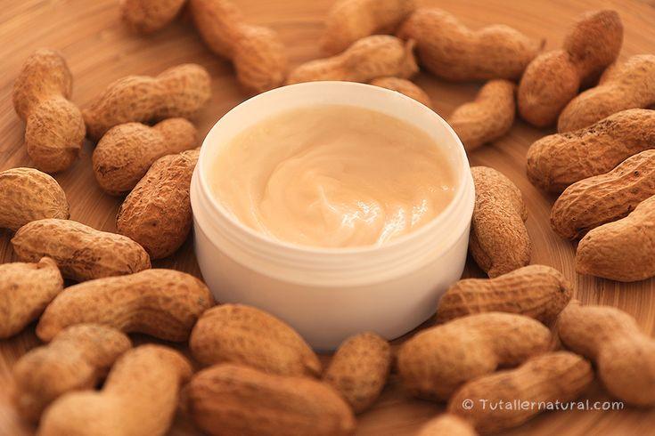 Mascarilla capilar de cacahuete y miel