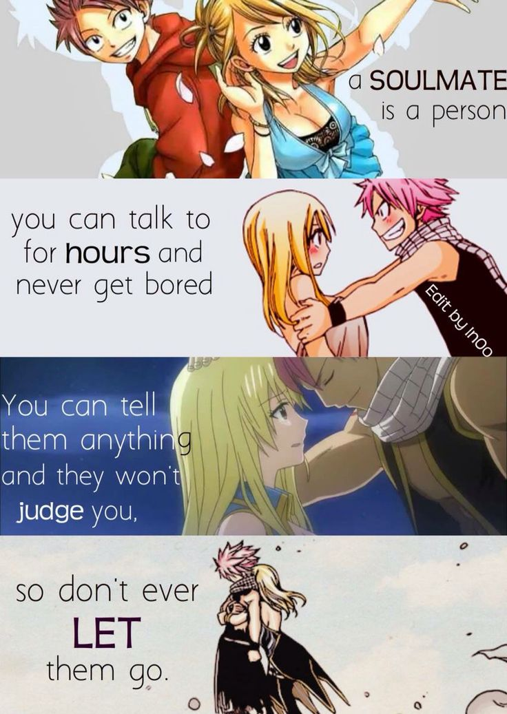 Nalu ♡ Fairytail. An anime we need to watch together. Hey, in case you didn't know yet. I love you.