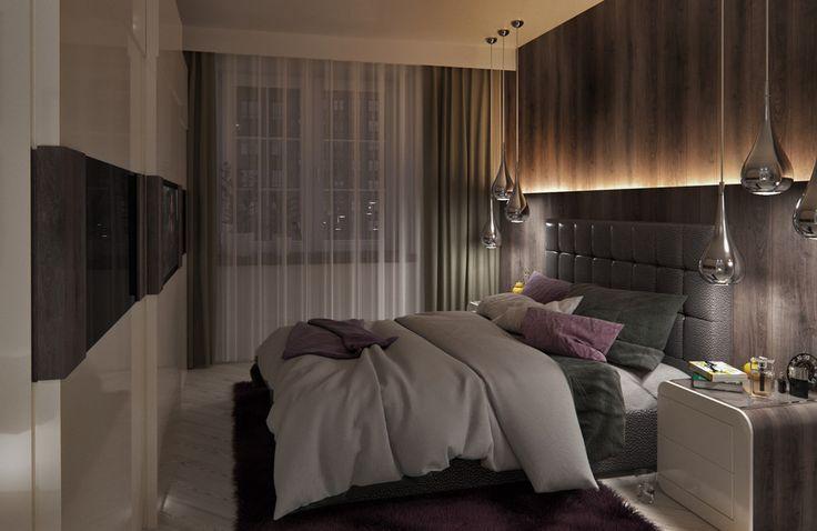 Лиловые грёзы - Лучший дизайн спальни | PINWIN - конкурсы для архитекторов, дизайнеров, декораторов