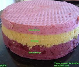 Recipe Layered Fruity Dream Icecream Cake by leonie - Recipe of category Desserts & sweets
