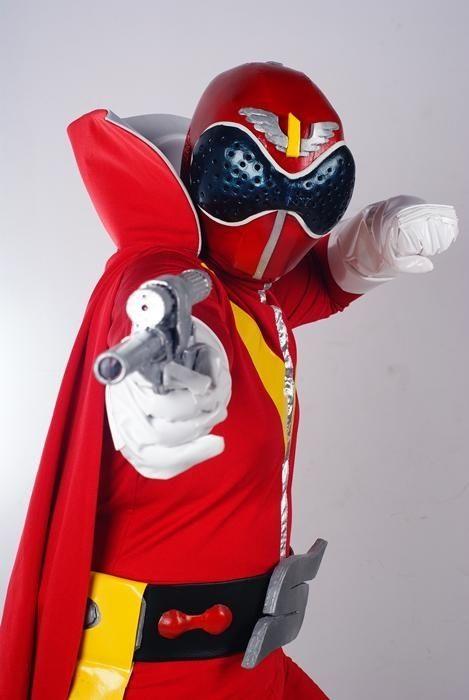 Himitsu Sentai Goranger Aka