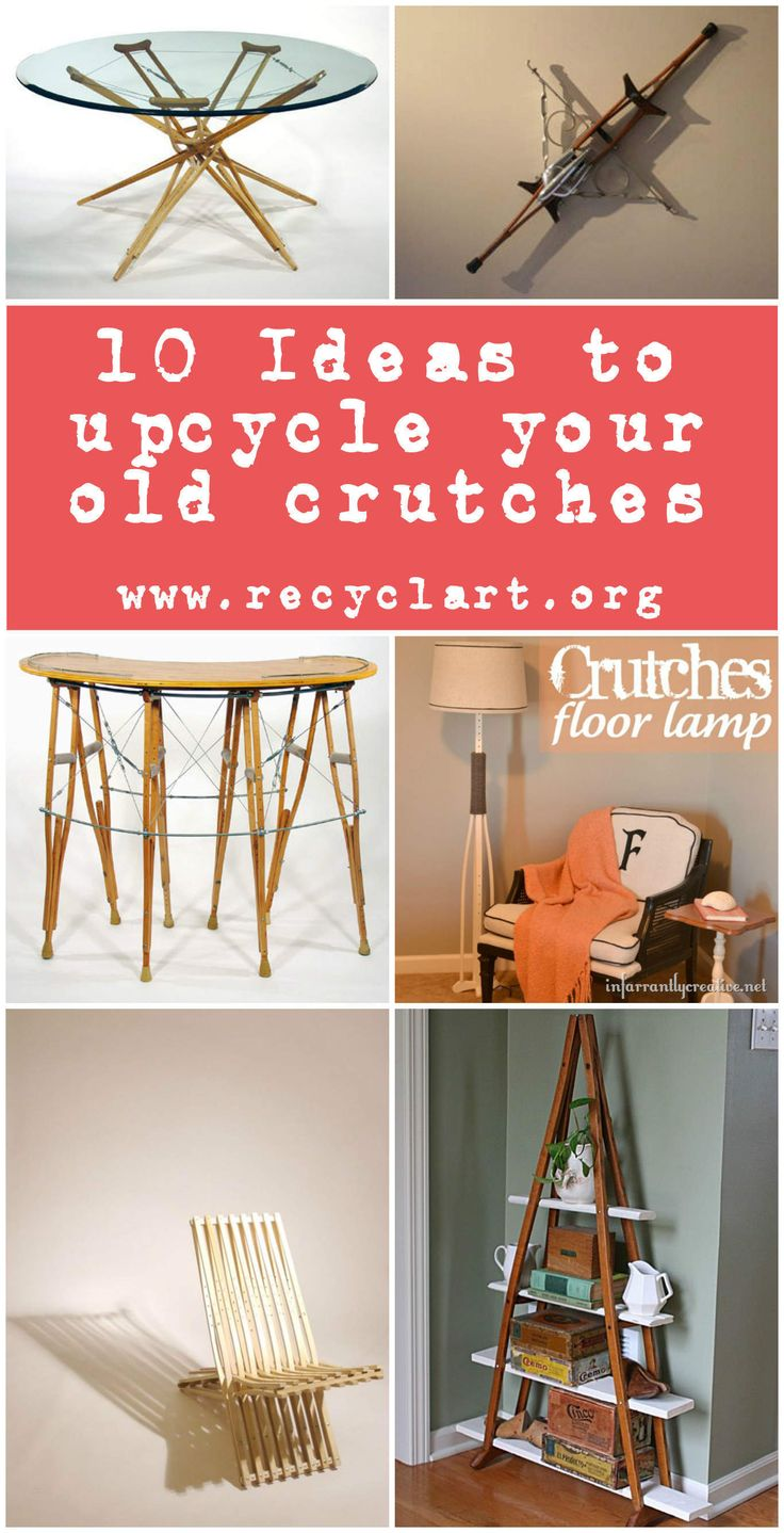 We already presented some interesting projects using old crutches to transform them into new things. Here are ten ideas of …