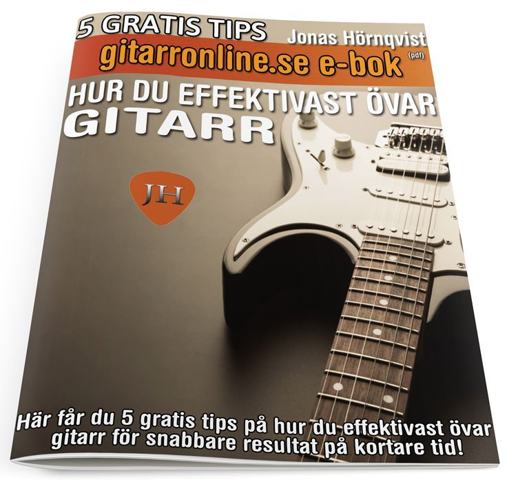 5 tips hur du övar effektivast (gratis) via Gitarronline. Click on the image to see more!