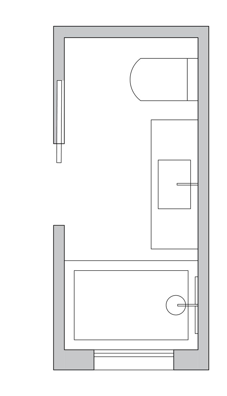 Small Bathroom Layout Ideas From An Architect For Maximum