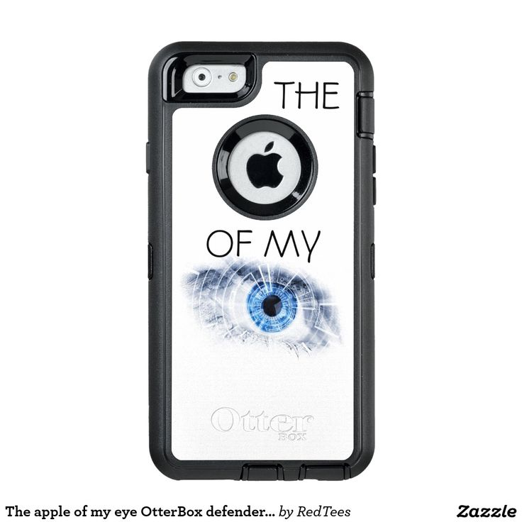 The apple of my eye OtterBox defender iPhone case