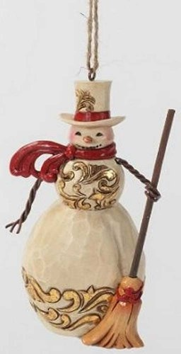 Ivory And Gold Snowman Ornament by Jim Shore/Heartwood Creek, http://www.amazon.com/dp/B009DLZO8K/ref=cm_sw_r_pi_dp_PDK7qb033Q98T