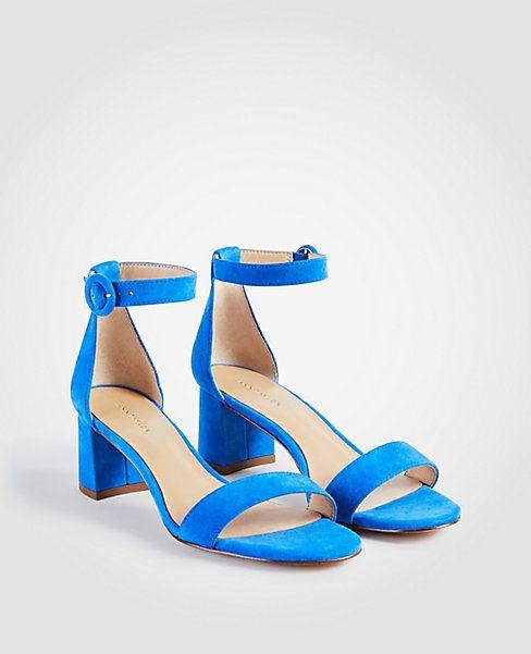 af30efde3d930d Nicole Suede Block Heel Sandals