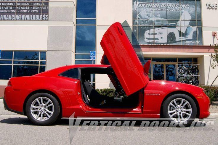 Trickrides Customdoors Trickdoors Carlifestyle Carporn Trickit Camaro Chevrolet Camaro Vertical Doors