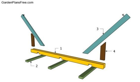 Building a hammock stand