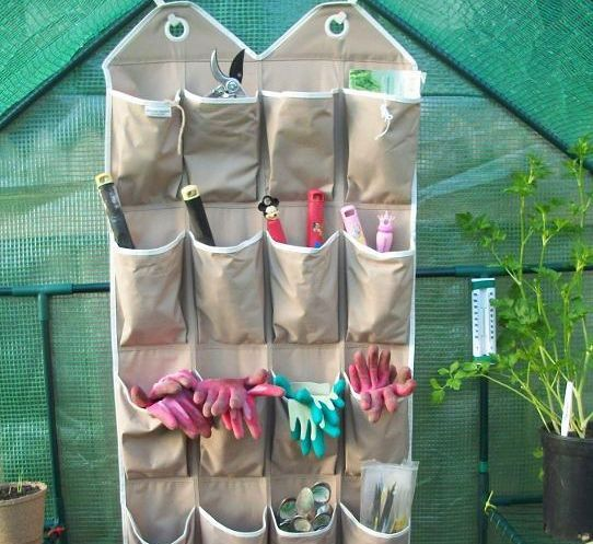 17 Simple Ways To Use A Hanging Shoe Caddy To Save Space And Be More Organized http://www.wimp.com/save-space-and-get-organized-with-hanging-shoe-caddy/