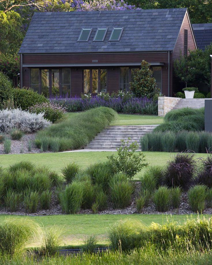 363 best xeriscape designs images on pinterest for Ornamental grasses landscape design ideas