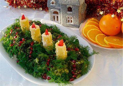 салат адвент фото