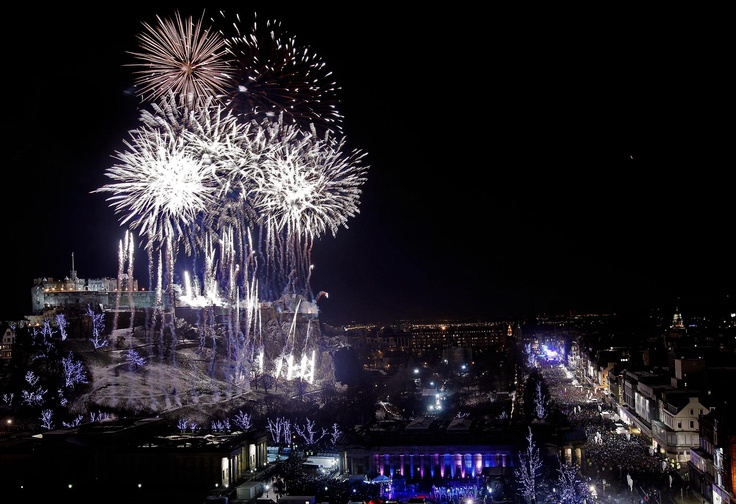 Edinburgh, Scotland (New Years Fireworks) Holidays