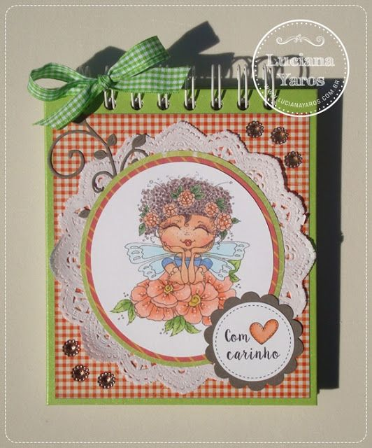 Luciana Yaros Scrapbooking: Bloco My Besties