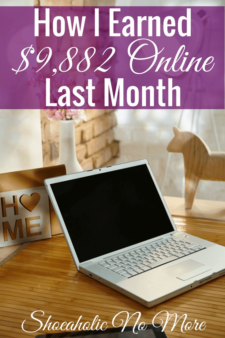 Check out how this blogger earned over almost $10,000 online in only one month!