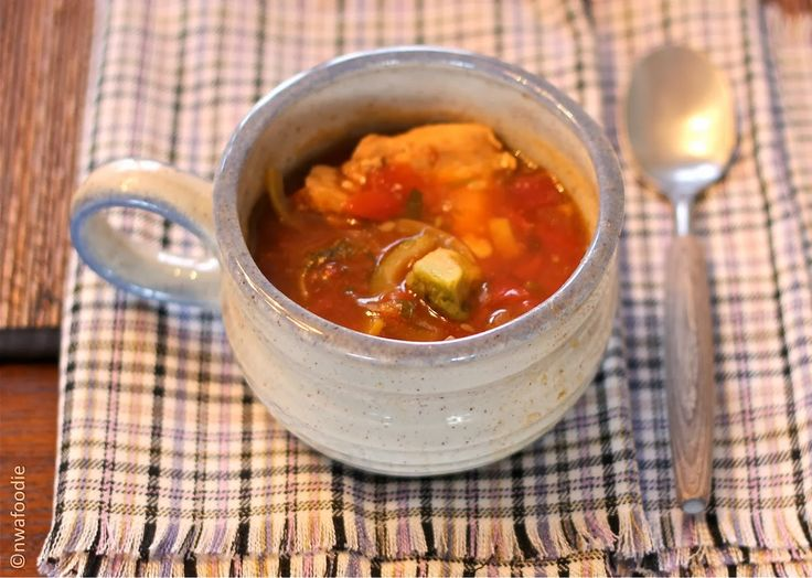 Better Than Whole Foods Chicken Tortilla Soup Up Close Cnwafoodie
