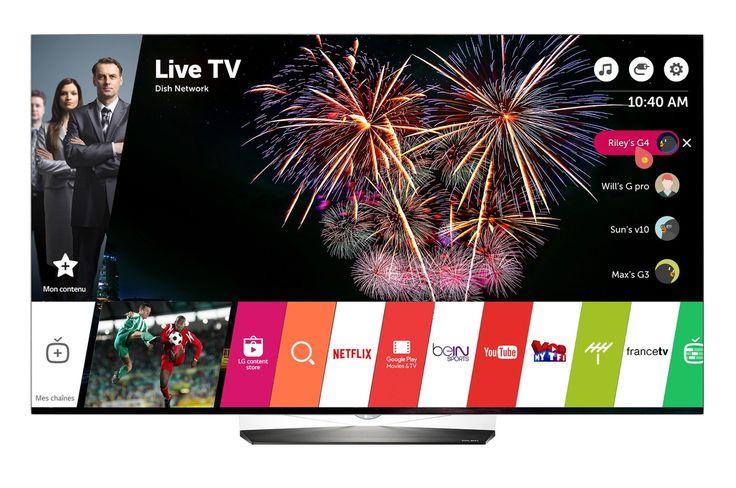 TV OLED Lg 55B6V OLED 4K