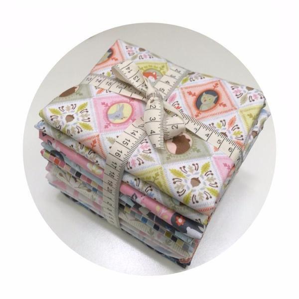 12 Fat Quarter Bundle - Born Wild Collection - Blend Fabrics – Pins & Needles Fabrics