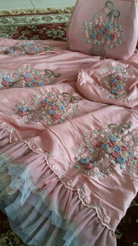 mukena exclusive mukena exclusive bordir buket mawar warna ...