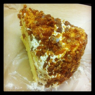 Coffee Crunch Cake Chinatown San Francisco