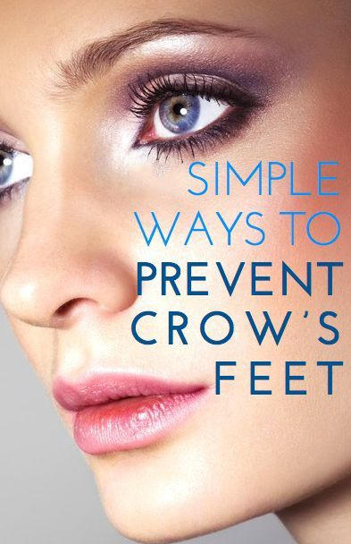 Prevent and reduce Crows Feet naturally