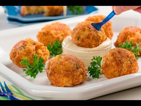 Cheesy Crab Poppers | MrFood.com