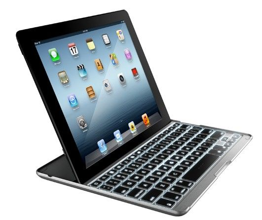 ZAGG intros a pair of Bluetooth keyboard cases for the iPad, three pairs of gaming headphones.