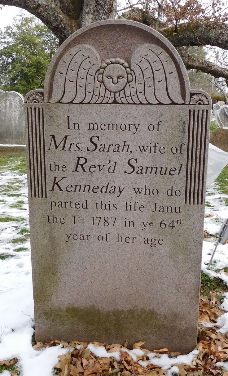 Sarah Kennedy 1787 Basking Ridge Presbyterian Church, Basking Ridge, NJ