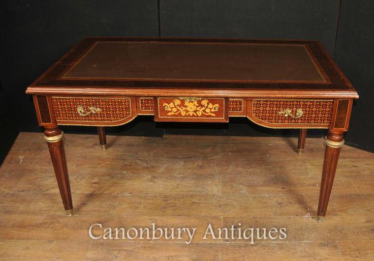 11 best bureau plat writing tables images on pinterest writers desk writing desk and. Black Bedroom Furniture Sets. Home Design Ideas