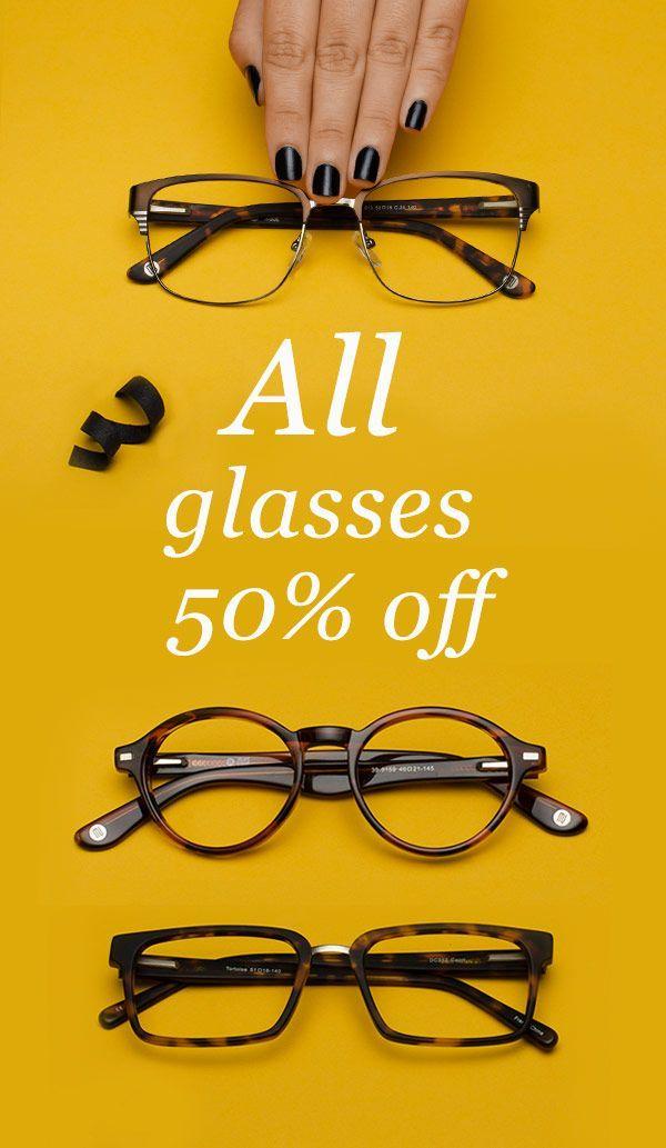 9901da95886 Best deals on designer glasses online. Stylish frames   quality lenses up  to 50% off. Find your favorite brands for less at GlassesUSA.