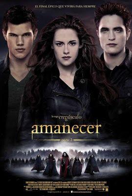 La saga Crepúsculo Amanecer - Parte 2 - online 2012