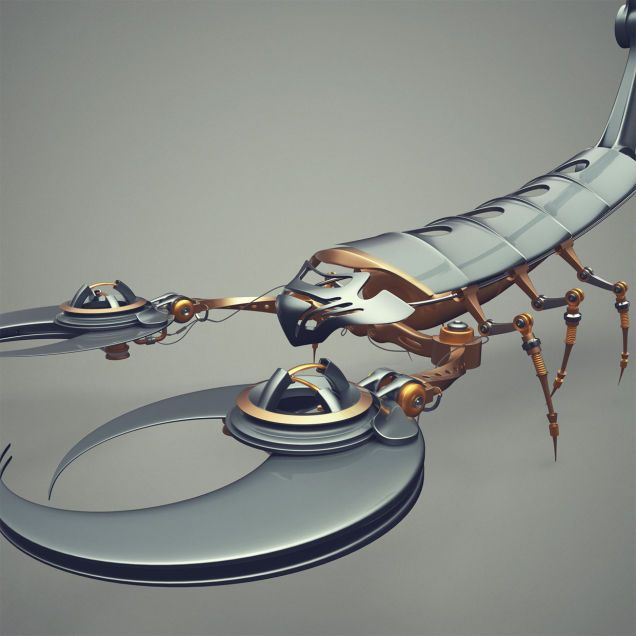 I wish all robotic insects were as cool as these
