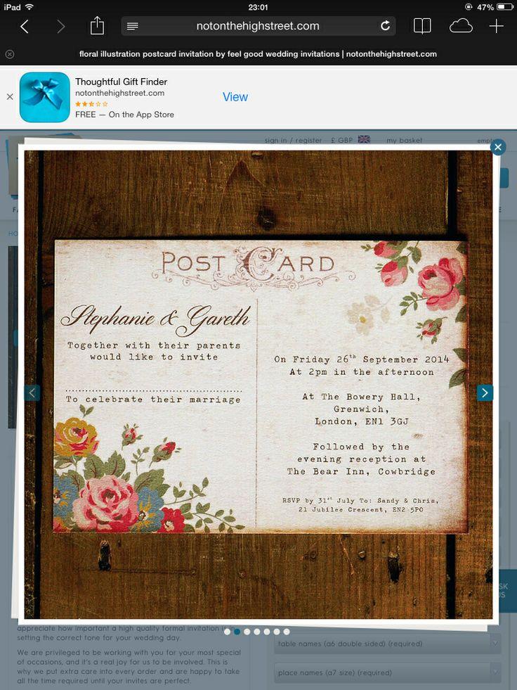 66 best Invitations images on Pinterest