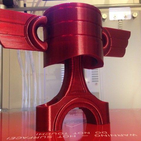 Download on https://cults3d.com #3Dprinting #Impression3D Piston Trophy 3D model, Collector_CNC