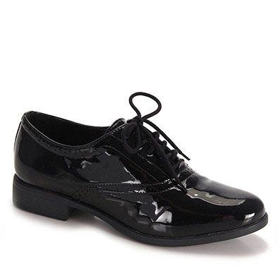 Sapato Oxford Feminino Bruna Rocha - Preto