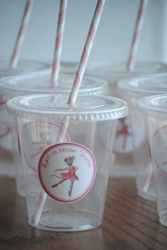 Hey, I found this really awesome Etsy listing at https://www.etsy.com/listing/175198945/12-angelina-ballerina-party-cups-with