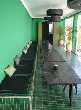 groen veranda green