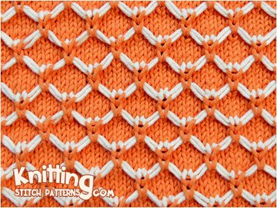 Butterfly Quilting stitch. Use Slip stitch method to create butterfly effect on the front.