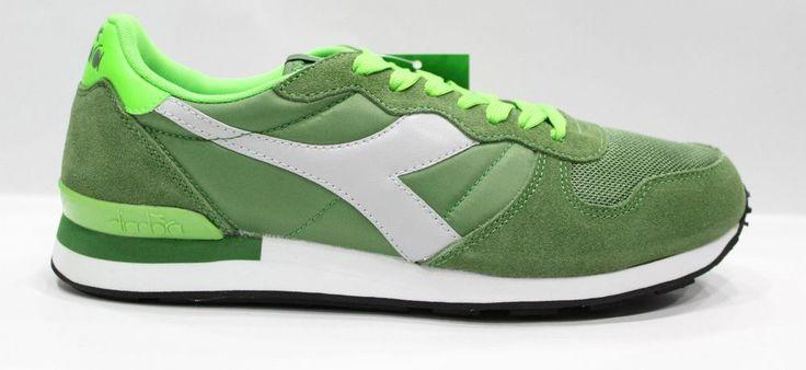 DIADORA  CAMARO Scarpe Shoes Sneakers Basse Unisex Green 42