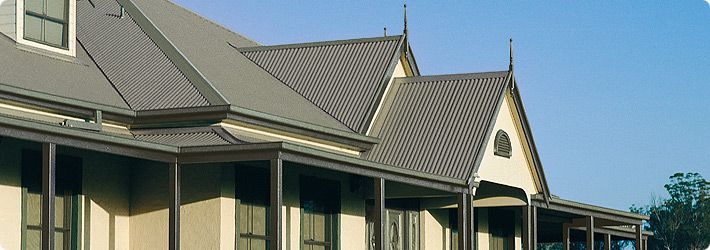 Colorbond Roofing - Oz Kit Homes