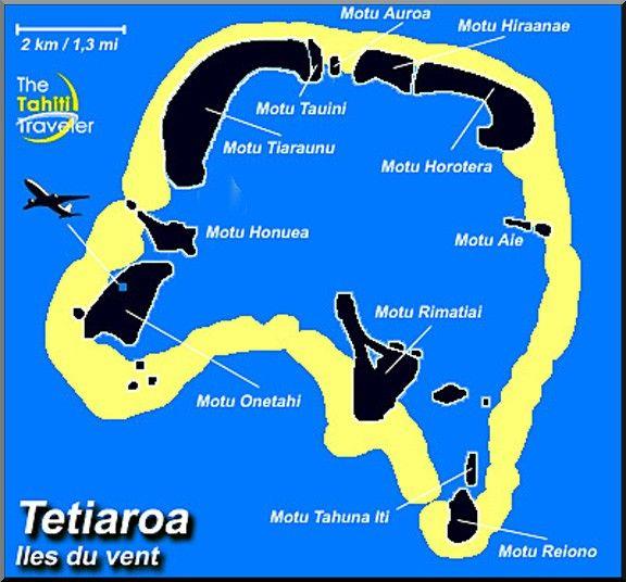 tetiaora carte polynesie