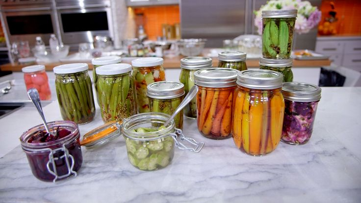 You don't have to give up on summer flavor! Turn summer's bounty into pickles with a tutorial from TODAY's director of culinary production.