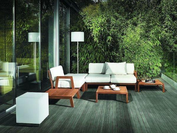 27 Coole Ideen Für Sofa Und Relax Liege Im Garten | Ideen Rund Ums ... Outdoor Patio Design Ideen