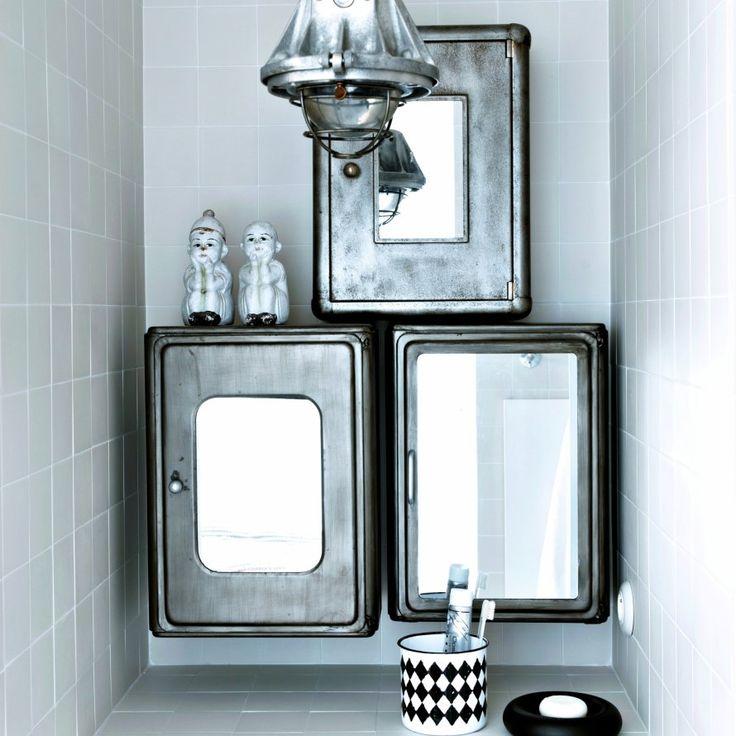 Valet De Chambre En Bois Ikea :  des armoires de sdb vintage salles de bain la salle de sdb bains au