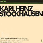 Karlheinz Stockhausen - Christoph Caskel / Max Neuhaus / Frederic Rzewski - Zyklus Für Einen Schlagzeuger In Zwei Verschiedenen Fassungen / Klavierstück X (Vinyl, LP, Album) at Discogs