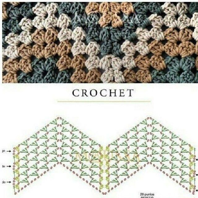 ام عبدالله Ameera Op Instagram كروشية كروشيه خياطة خيوط صوف حياكة تطريز تريكو باترون البسيتين البحرين Crochet Crochet Patterns Crochet Blanket