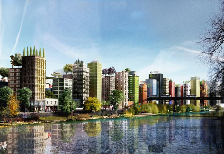 See How a Mini-City Can House Stockholm's Rapidly Growing Population