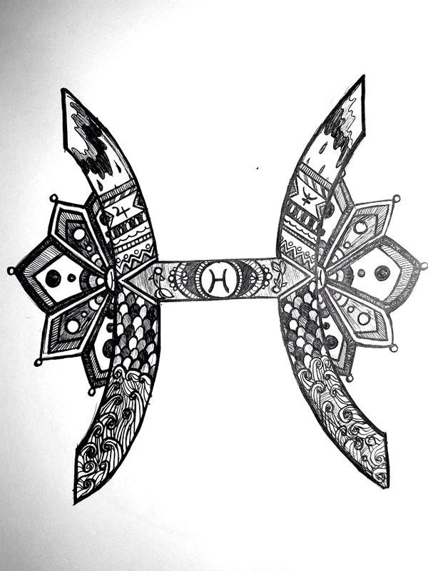 Pisces Art Symbol | www.imgkid.com - The Image Kid Has It!