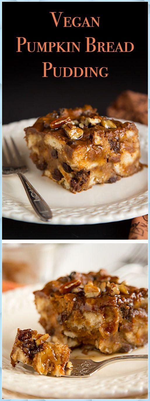 Veganer Kürbisbrotpudding – Chocolate Bread Pudding #best chocolate bread pudding #bobby flay chocolate bread pudding #c…
