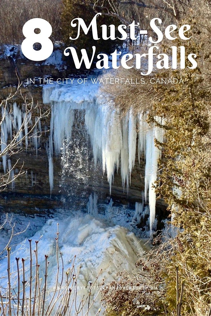 So you love waterfalls? Here are 8 waterfalls you have to visit in Hamilton, Canada — the waterfall capital of the world!